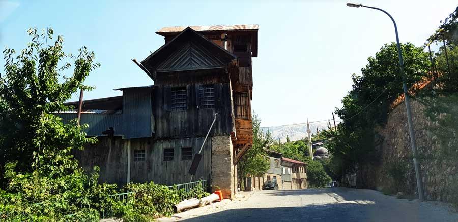 Erzincan Kemaliye tarihi köy evi - Kemaliye historical village house