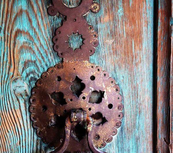 Kemaliye tarihi kapı tokmakları fotoğrafları - Erzincan Apçağa village historical door knockers