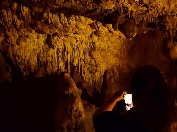 Ballıca mağarası fotoğrafları Yeni Salon soğan biçimli sarkıtlar - Ballıca cave photos New Hall onion shaped stalactites