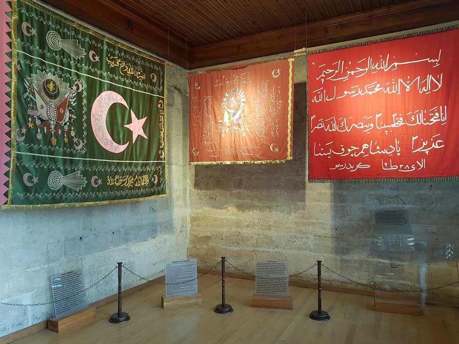 Mevlana müzesi fotoğafları Mevlevihane sancakları - Mevlana museum photographs Mevlevi houses starboard