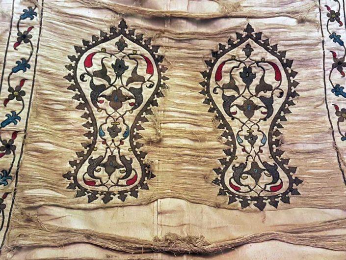 Mevlana müzesi fotoğrafları, Seccade, Ottoman 16.yy - Mevlana museum photos, Prayer Rug, Ottoman 16th Century