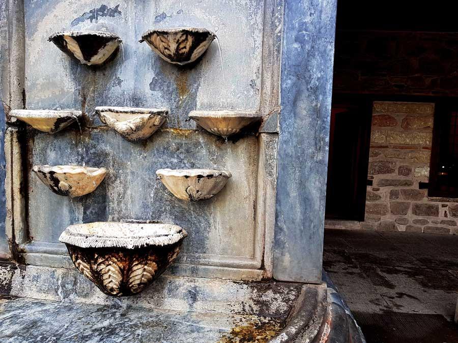 Mevlana müzesi selsebili - Mevlana museum ornamental fountain