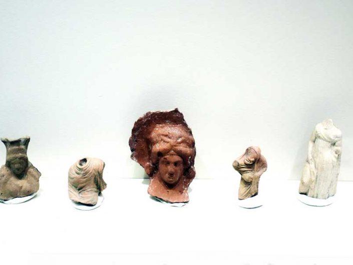 Tekirdağ Arkeoloji ve Etnografya Müzesi Heraion Teikhos kazıları buluntuları - Tekirdağ Archeology and Ethnography Museum, the excavations of Heraion Teichos ancient city