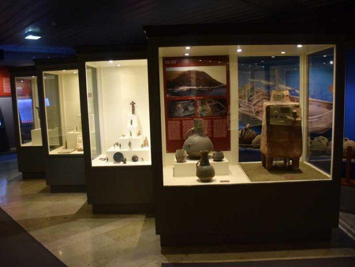 Tekirdağ Arkeoloji ve Etnografya Müzesi Toptepe höyüğü buluntuları - Tekirdağ Archeology and Ethnography Museum findings of the Toptepe Mound