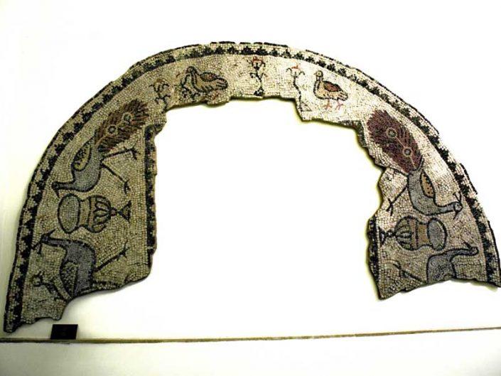 Tekirdağ Arkeoloji ve Etnografya Müzesi mozaik MS. 6.yy Vize Bizya - Tekirdağ Archeology and Ethnography Museum mosaic Vize Bizya 6th Century AD