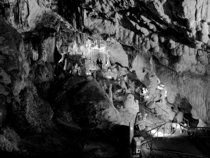 Tokat Ballıca mağarası içi - interior of the Ballica cave or Indere cave