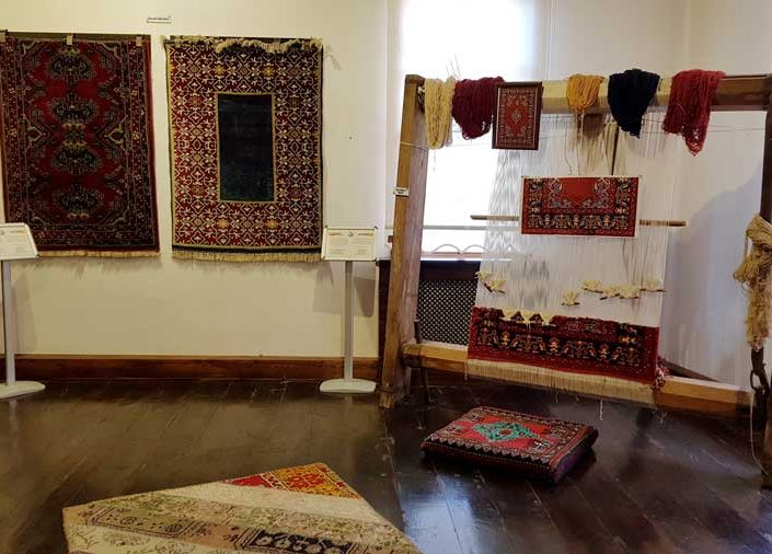 Uşak Halı ve Kilim Müzesi meşhur Uşak halıları - Uşak Carpet and Rugs Museum famous Uşak carpets