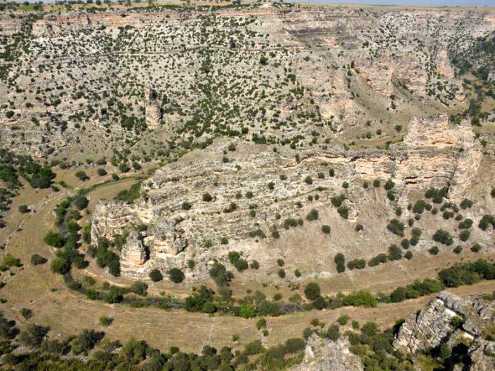 Uşak Ulubey kanyonu manzarası - Ulubey canyon view