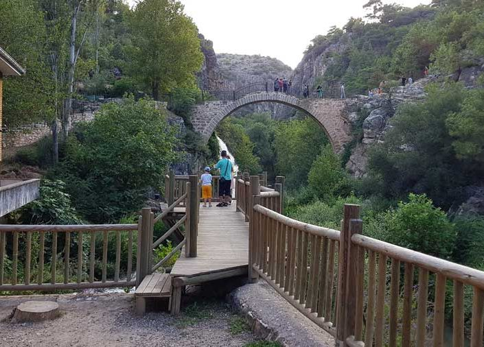 Uşak tarihi Clandras köprüsü - Clandras bridge