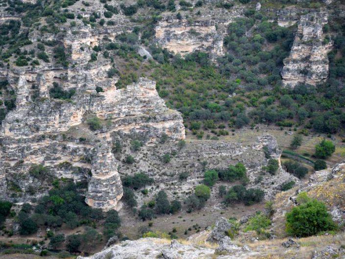 Ulubey kanyonu cam terası altı - Ulubey canyon under glass terrace