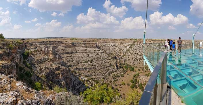 Ulubey kanyonu ve cam teras - Ulubey Canyon and glass terrace