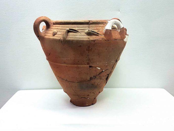Konya Arkeoloji Müzesi Çatalhöyük buluntuları MÖ 6500 - Konya Archaeological Museum Çatalhöyük artifacts B.C. 6500