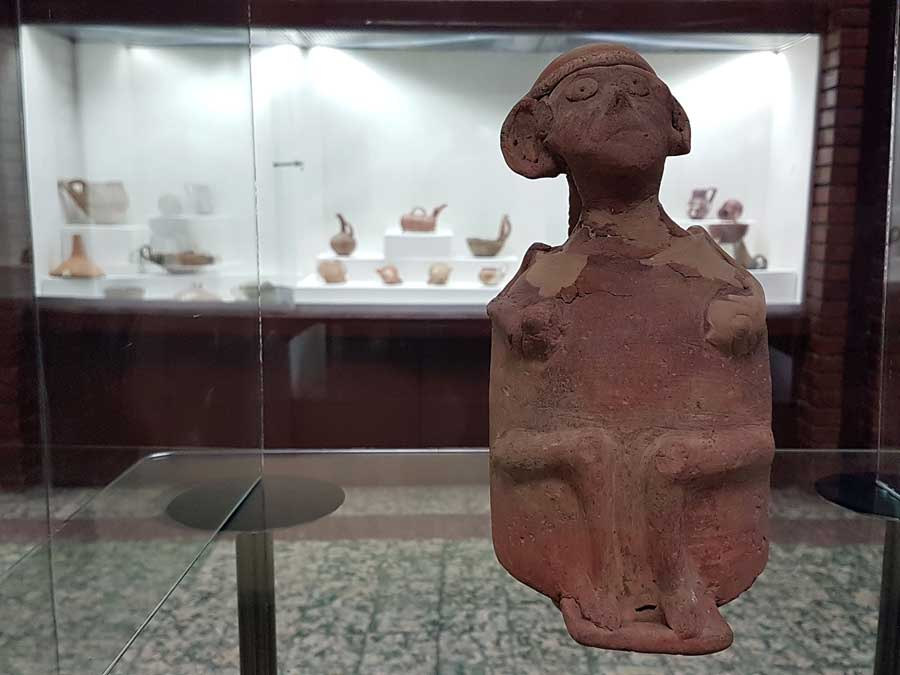 Konya Arkeoloji Müzesi Karahöyük buluntuları Asur Ticaret Kolonileri Çağı MÖ 1950 - Konya Archaeological Museum Karahöyük findings Assyrian Colony Period B.C. 1950