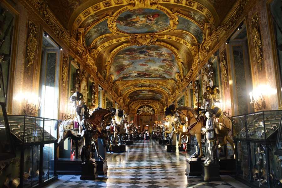 Torino Kraliyet Müzeleri Kraliyet Cephaneliği müzesi - Turin Royal Museums Royal Armory museum
