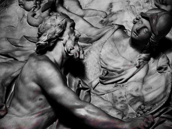 Torino Kraliyet Müzeleri heykelleri fotoğrafları - Turin Royal Museums sculptures photos