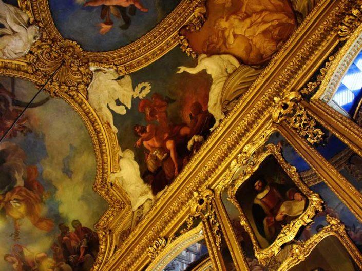 Torino Kraliyet Sarayı duvar ve tavan resimleri - Turin Royal Palace wall and ceiling paintings