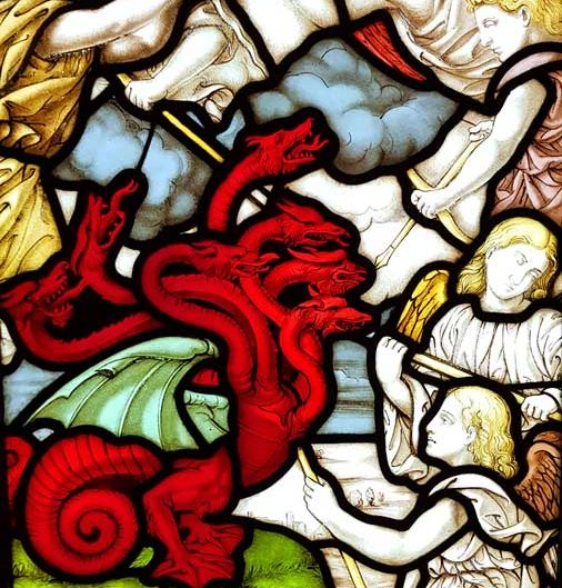 Milano Katedrali Müzesi orijinal vitraylar - Museum of Milan Cathedral stained glass panels