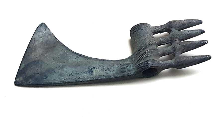 Sivas Arkeoloji Müzesi Hitit Dönemi tören baltası - Sivas Archaeology Museum Hittite Period ritual axes