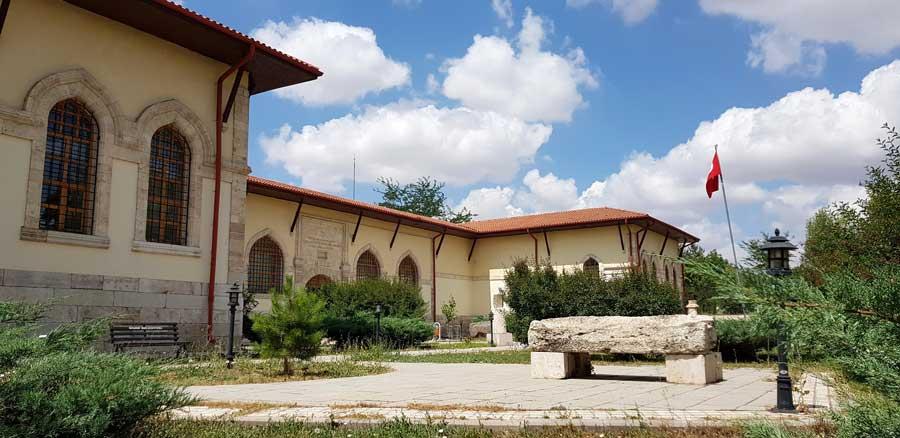 Sivas Arkeoloji Müzesi tarihi binası - Sivas Archaeology Museum historical building