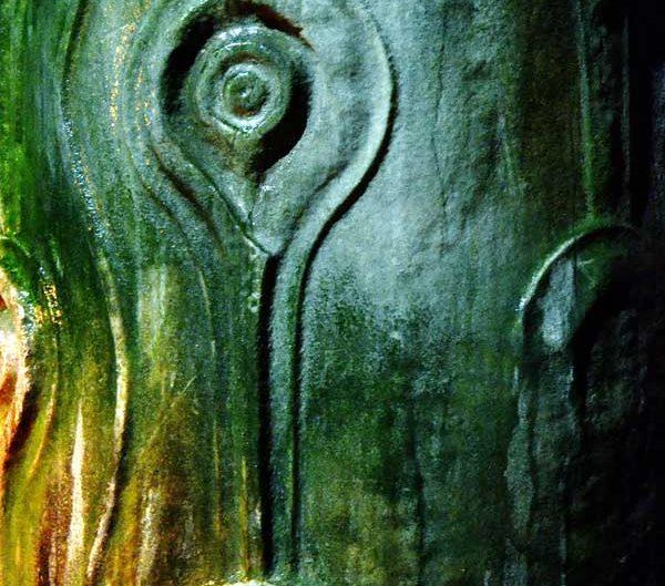Yerebatan Sarnıcı Gözyaşı sütunu detayı - Yerebatan (Basilica) Cistern Teardrop Column detail