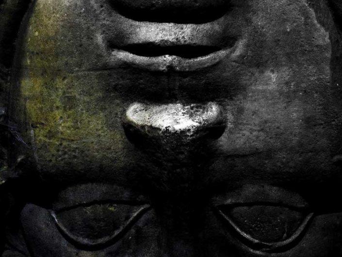 Yerebatan Sarnıcı fotoğrafları Medusa başı - Yerebatan (Basilica) Cistern photographs upside down Medusa head