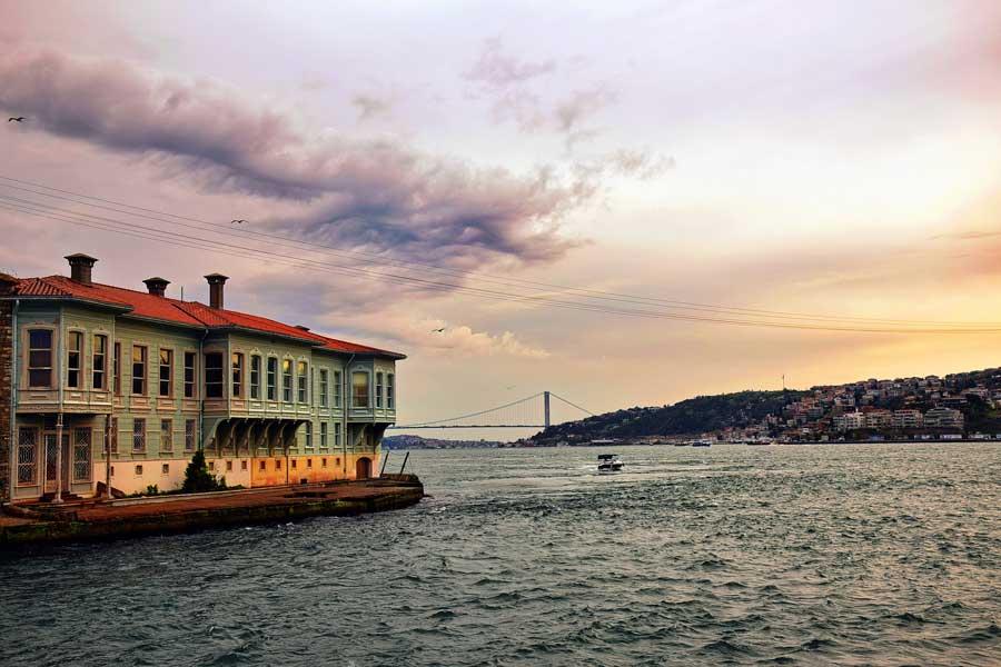 İstanbul Konstantiniyye dönemi Edib Efendi Yalısı - Istanbul Konstantiniyye period Edeb Efendi Mansion