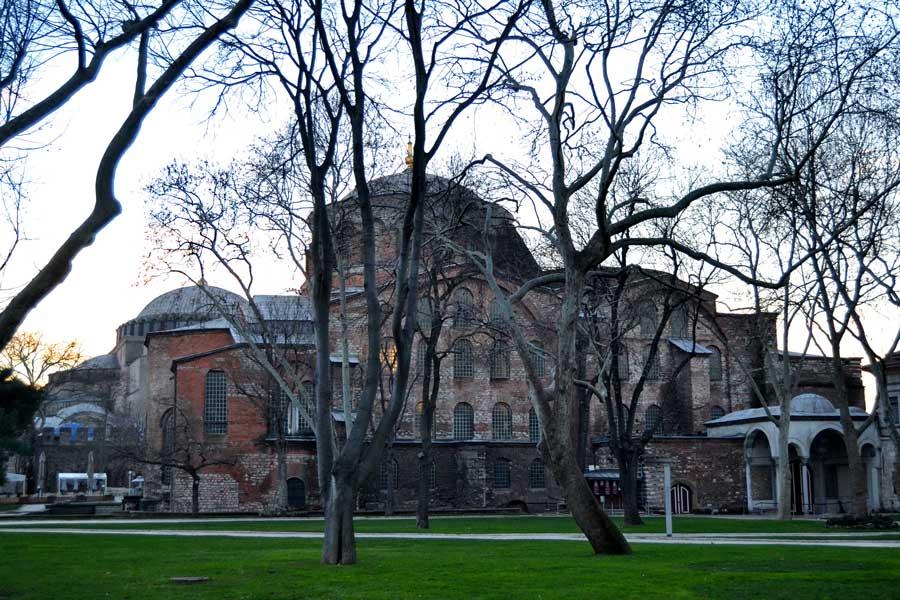 Aya İrini Kilisesi - Constantinopolis Hagia Irene
