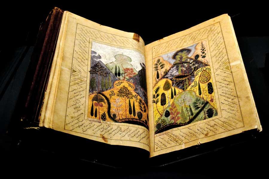 Türk ve İslam Eserleri Müzesi Timurlu Dönemi Mecmua 15.yy - Turkish and Islamic Arts Museum Timurid Period Album 15th Century
