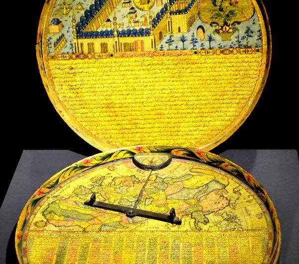 Türk ve İslam Eserleri Müzesi fotoğrafları Kıblenüma 18.yy - Turkish and Islamic Arts Museum Qiblanuma Ottoman Period 18th Century