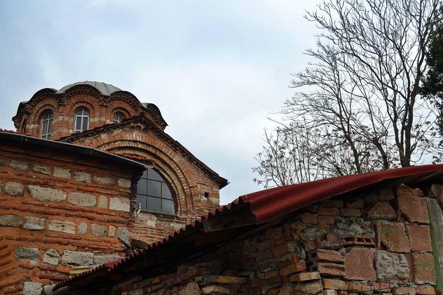Vefa Kilise Cami veya Molla Gürani Cami - Church-Mosque of Vefa
