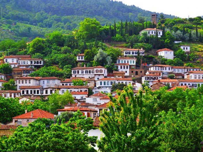 Şarapları ile ünlü Selçuk Şirince köyü fotoğrafları - Famous Selcuk Sirince village with wines