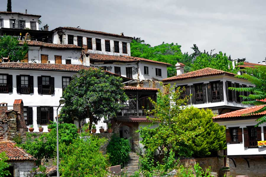 Şirince köyü evleri, Şirince fotoğrafları - Historical Sirince village houses, Sirince photos