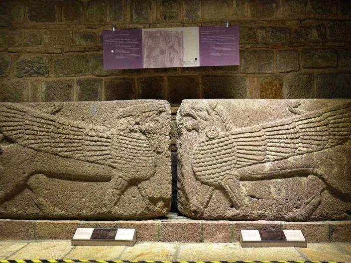 Anadolu Medeniyetleri Müzesi, Frig kabartmaları M.Ö.1200-700 - Anatolian Civilizations Museum reliefs of Phrygian