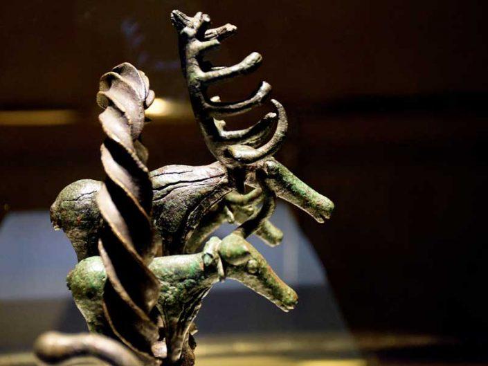 Anadolu Medeniyetleri Müzesi, Hitit Güneş kursu Alacahöyük M.Ö. 2500-2250 - Anatolian Civilizations Museum photos Hittite Sun Disk Alacahoyuk 2500-2250 B.C
