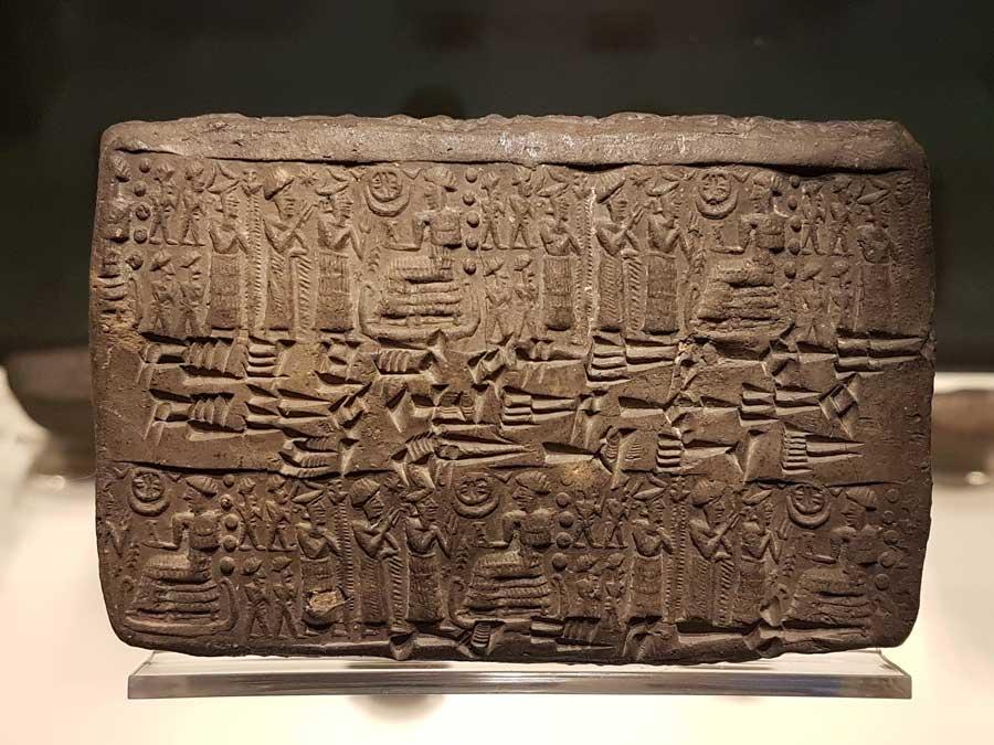 Anadolu Medeniyetleri müzesi Kültepe tabletleri ve buluntuları - Anatolian Civilizations Museum Kultepe tablets