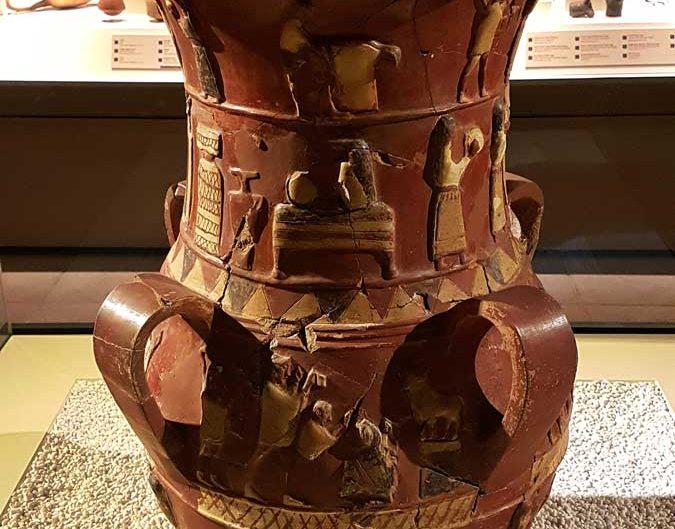 Anadolu Medeniyetleri müzesi eserleri Hitit dönemi İnandık vazosu M.Ö.1700 - Anatolian Civilizations Museum photos Hittite period inandik vase 1700 B.C