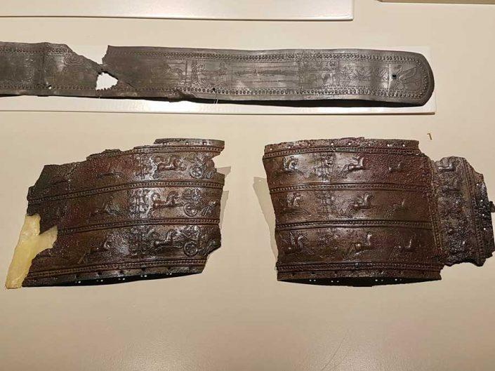Anadolu Medeniyetleri müzesi eserleri Urartu kemerleri - Anatolian Civilizations Museum photos Urartu belts