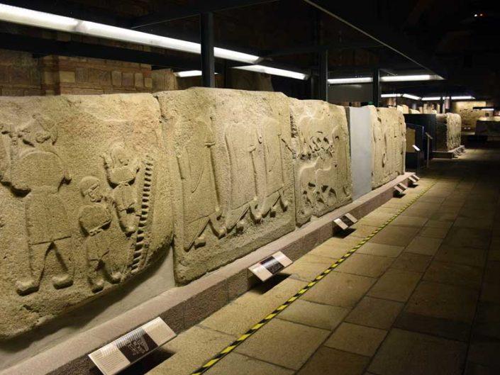 Anadolu Medeniyetleri müzesi fotoğrafları sergi salonları - Anatolian Civilizations Museum exhibition halls