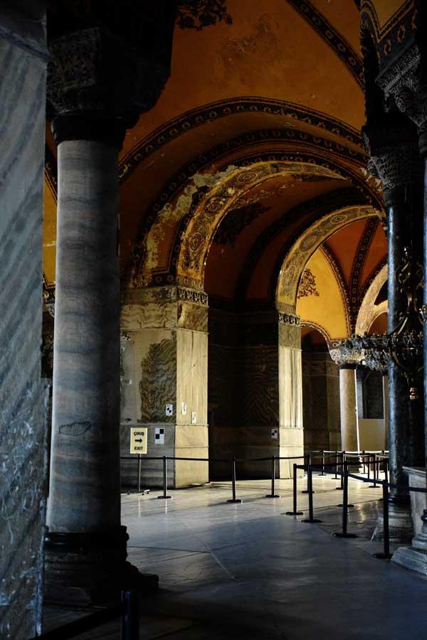 Ayasofya üst kat - Hagia Sophia upstairs