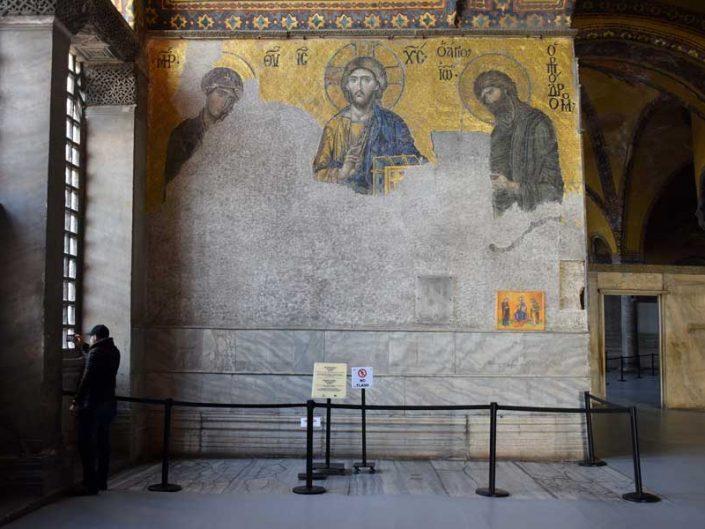 Ayasofya Deesis Mozaiği - Hagia Sophia Deesis Mozaic