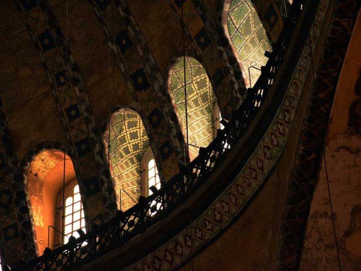 Ayasofya büyük kubbe pencereleri - Windows of Hagia Sophia dome's