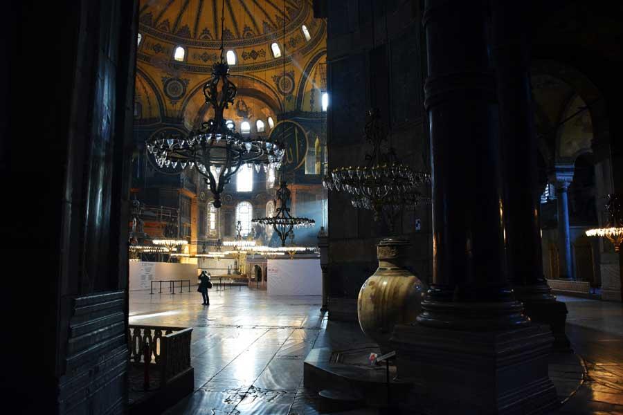 Ayasofya büyük salon - Hagia Sophia large hall