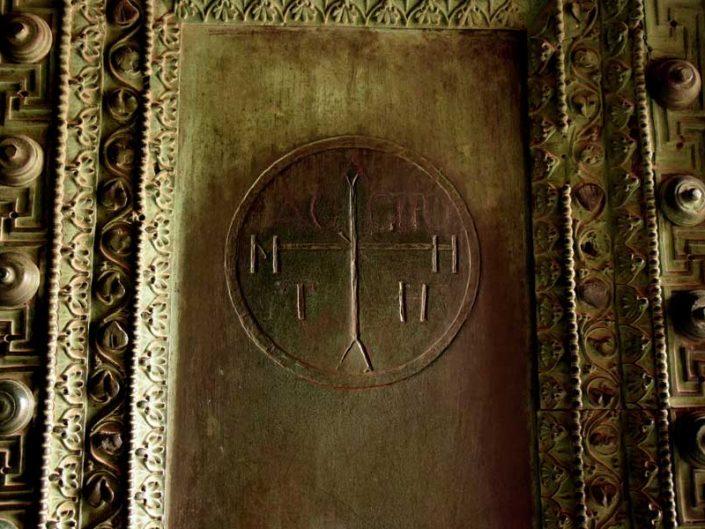 Ayasofya fotoğrafları kapı detayı - Detail of the door, Hagia Sophia