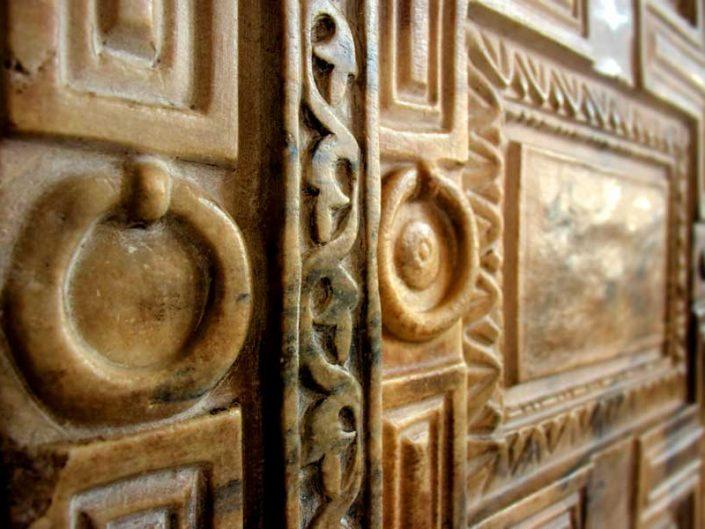 Ayasofya fotoğrafları mermer kapı detayı (Cennet Kapısı) - Hagia Sophia marble door detail (Heaven Door)