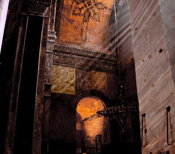 Ayasofya içi - a view from inside the Hagia Sophia
