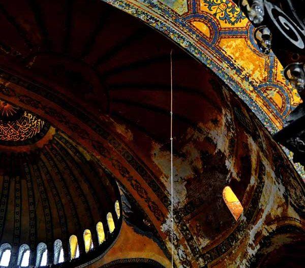 Ayasofya içi detay - Detail from Hagia Sophia