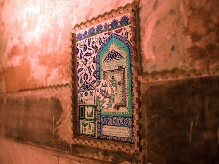 Ayasofya içinde çini - Tale in Hagia Sophia