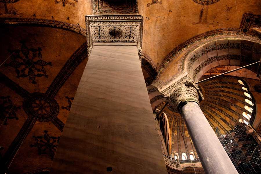 Ayasofya Mimarisi, Restorasyonları ve Onarımları Bilgileri
