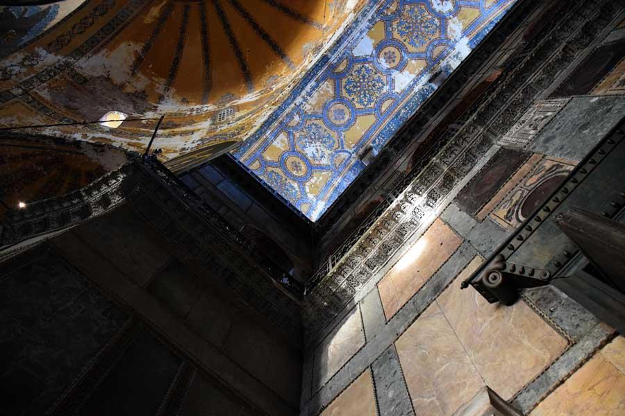 Ayasofya'dan bir detay - A detail from Hagia Sophia
