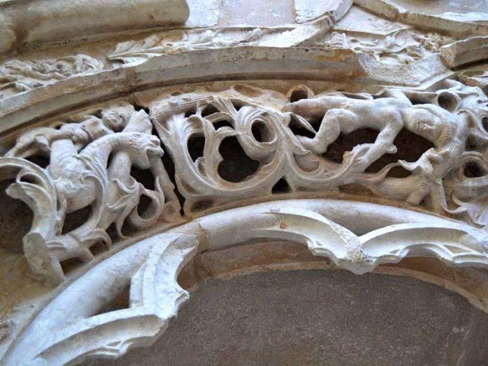 Carmo Manastırı Kilisesi süslemeleri - Lisbon Carmo Convent photos (Convento do Carmo)